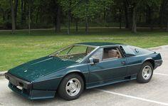 Dave's 1977 Lotus Esprit. Web site is here: http://www.informationart.org/LOTUS_ESPRIT/esprit.html