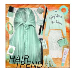 """""""Minty Fresh"""" by rachael-aislynn ❤ liked on Polyvore featuring Miss Selfridge, L'Agent By Agent Provocateur, Butter London, NARS Cosmetics, Balenciaga, Mark Cross, Invisibobble, House of Holland, Urbanears and Casetify"""
