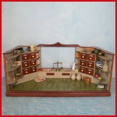 Vintage German Miniature Grocery Store 1930s