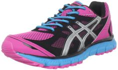 Amazon.com: ASICS Women's GEL-Scram Running Shoe,Hot Pink/Lightning/Electric Blue,5 M US: Shoes