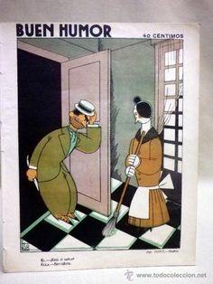 ANTIGUA REVISTA. BUEN HUMOR. SEMANARIO SATÍRICO. Nº 177. MADRID. 1925. DIBUJANTE. TONO Y GARRIDO