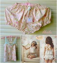 """Купить Пижамка """"Розовый шик"""" хлопок - розовый, пижамка, пижама женская, девушка, шебби шик"""