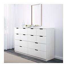 IKEA - NORDLI, Kommode, , Das Zuhause soll ein sicherer Ort für die ganze Familie sein. Deshalb ist ein Beschlag beigepackt, mit dem die Kommode an der Wand befestigt werden kann.Kann nach Wunsch und Gegebenheiten einzeln eingesetzt oder mit mehreren kombiniert werden.Kombinationen in verschiedenen Farben zeigen den individuellen Stil.Integrierte Stopper dämpfen den Schwung beim Zuschieben und sorgen für langsames, geräuschloses Schließen der Schubladen.In den verdeckten Schienen gleiten die…