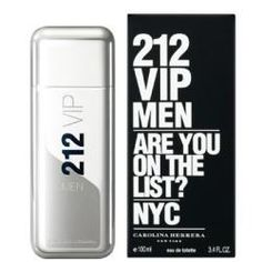 fe5153331a4 Carolina Herrera 212 VIP Eau De Toilette for Men Welcome to the world of 212  VIP Men. a world of charisma and elegance. With unique harmonies of Lime  Caviar ...