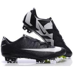 http://www.asneakers4u.com/ New style Nike SoccerFootball Mercurial Vapor SuperFly III FG CR7 Safari In Black White Cleats