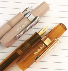Looking for a portable, inexpensive fountain pen! These Kaweco Al-Sports are small and mighty--learn more! Kaweco Fountain Pen, Fountain Pen Ink, Luxury Pens, Filofax, Cool Things To Buy, Stationery, Pencil, Cool Stuff, Dream Life