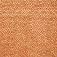 Flame Stitch – Persimmon/Cream