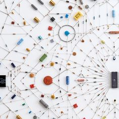 Technological Mandalas Made from Soldered Computer and Radio Components | Colossal