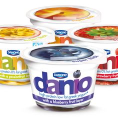 Danone Danio Yogurt