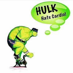Hulk hate cardio