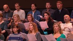 The Royal Opera Chorus rehearse 'Va Pensiero' from Verdi's Nabucco - Roy...  Rehearse with sheet music