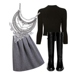 """""""Untitled #501"""" by heden-fun ❤ liked on Polyvore featuring Alexander McQueen and Givenchy"""