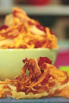 Tσιπς πατάτας και άλλων λαχανικών