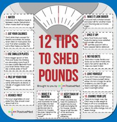 Tips to shed those lb's!