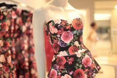 Jodri #vitrine #dress #roses #estampa #vitrine