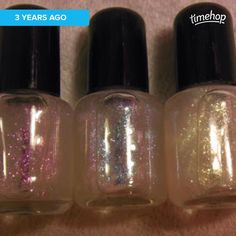 #itflashback to my very first duochrome toppers! #nailpolish #incidentaltwin #incidentaltwinpolish #Etsy http://ift.tt/1abYRXD