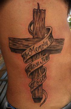 Wooden Cross Tattoo Ideas Men Rib - http://tattooideastrend.com/wooden-cross-tattoo-ideas-men-rib/ -
