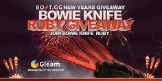 Bowie Knife Ruby GA