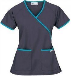 Azul! Scrubs Outfit, Scrubs Uniform, Maid Uniform, Veterinary Scrubs, Medical Scrubs, Nursing Scrubs, Scrubs Pattern, Stylish Scrubs, Cute Scrubs