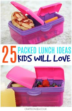 Packed lunch ideas kids will love - a whole month of ideas and a free printable with them all listed! #ad #backtoschool