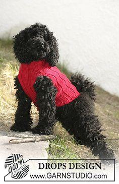 """dog coat in """"Alaska"""" pattern"""