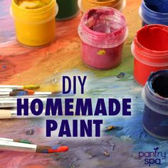 Make Your Own Organic Paint