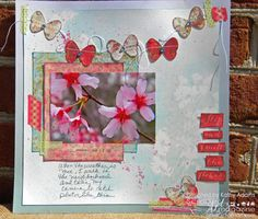 Prima Paper, Flowers and Stamps...Oh My!!   Scrap n' Art Online Magazine - Information. Inspiration. Education. Since 2008.