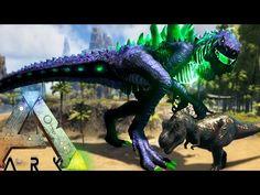 awesome Ark Survival Evolved - GODZILLA IN GAME! GIANT ATOMIC BREATH HAVING GORJIRA! - (Ark Modded Gameplay)