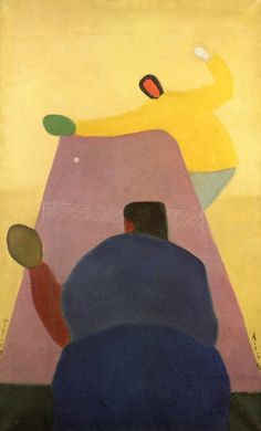 milton avery. have students observe this for a while and discuss what they see.