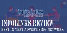 Infolinks is the second best advertising network after Google Adsense. It's a global advertising network, which allows advertisers to run their ad campaigns and allow publishers to earn money with blogs or websites by showing Infolinks ads. Advertising Networks, Second Best, Ad Campaigns, Earn Money, Ads, Google, Blog, Make Money, Advertising Campaign