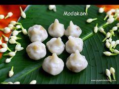 14 MODAKAM | KOZHUKATTAI VARIETIES| GANESH CHATURTHI 2015 RECIPES  | Jeyashri's Kitchen