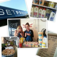 Get Fresh at Cotton Tree.deli, grocer and cafe love it! Get Fresh, Deli, People, Cotton, People Illustration, Folk