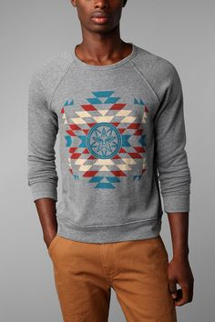 OBEY Printed Crew Pullover