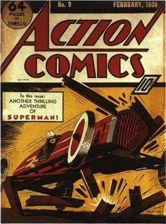 "Eventually Superman would catch on as the star of ""Action Comics."" In the meanwhile, this is a job for Nondescript Racecar Driver!"