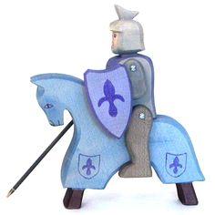 Riding Knight Blue (Ostheimer)
