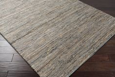 Adobe Area Rug | Gray Natural Fiber and Texture Rugs Hand Loomed | Style ADB1000