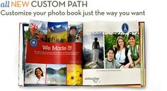 I would love to make one of Shutterfly's Photobooks!