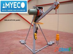 MALACATE INTEGRAL DE 500KG EN VENTA AMYECO Lifting Devices, Electric Winch, Tool Shop, Tools Hardware, House Elevation, Lineman, Steel Structure, Glass Panels, Crane