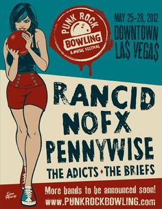 Rancid - Nofx - Pennywise - The Adicts - The Briefs by Sean Rowley
