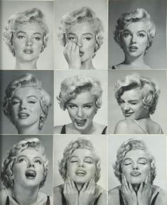 Marilyn Monroes Actress blonde bombshell