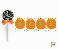 Our Little Pumpkin-Baby Shower Banner
