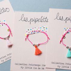bracelets pompons presentation