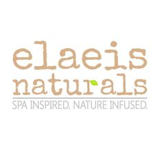 Elaeis Naturals logo. Spa inspired. Nature infused. Specializing in at-home spa treatments using botanicals, herbs, & oils from around the world. Face masks. Soap bars. Scrub bars. Salt bars. Bath salts. Bath sodas. Bath oats. Menthol crystal foot soaks.  Soap mins. Party favors. Wedding favors. Pedicure Spa Kits. Facial Spa Kits. Gift sets.   Dead Sea mineral salts. Dead Sea mud. Activated charcoal. Eucalyptus menthol. French green, French yellow, and French red clay. Pink clay. Seaweed…