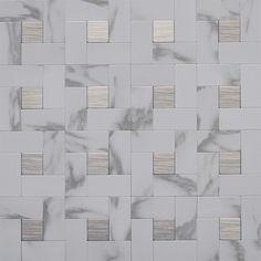 Metal Mosaic Wall Tile           12in.x12in.x4mm -      #03108