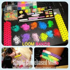 Simply Homebased Mom - The Practical Filipina Loom Bands, Filipina, Mom, Creative, Kids, Rubber Bands, Young Children, Boys, Children