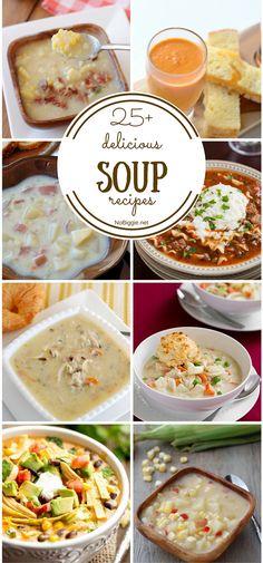 25+ delicious soup recipes -NoBiggie.net