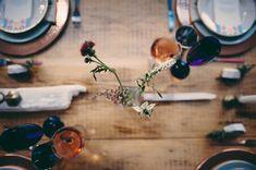 """Mariage d""""hiver aux accents géométriques / Geometric accents winter wedding ideas"""