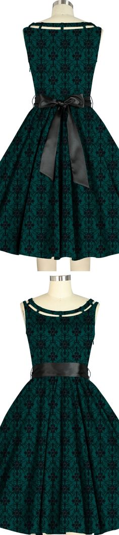 1950s Inspired dress --Standard size $49.95 Plus size $59.95 Chic Star Design by Amber Middaugh