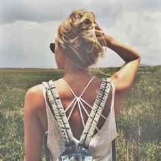 Strappy Back Bra styled by FP Me user lbestes87 on  #fpme #freepeople