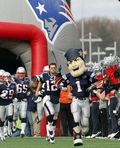 Best football mascots in the NFL - Pat Patriot